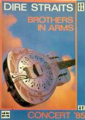 Dire Straits - 'Brothers in Arms Concert '85' Postcard
